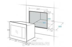 Встраиваемая микроволновая печь Midea AG 820 BJU-WH схема