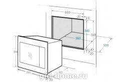 Встраиваемая микроволновая печь Midea TG 925 B8D-BL схема