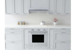 Встраиваемая вытяжка для кухни KRONAsteel JESSICA slim 500 WHITE push button фото 1