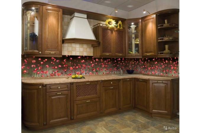 Кухонный фартук из ABS пластика Висячие сады в интерьере  1