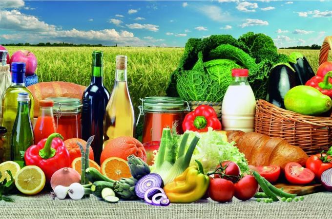 Фартук для кухни из МДФ Урожай   695х2070х4мм