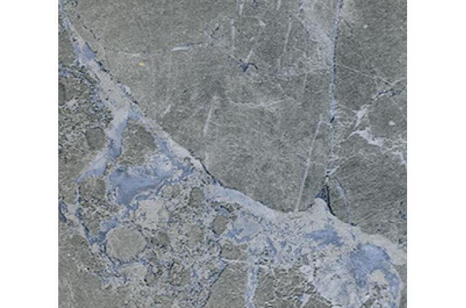 Глянцевая столешница для кухни 3034 Е Мрамор Марквина синий