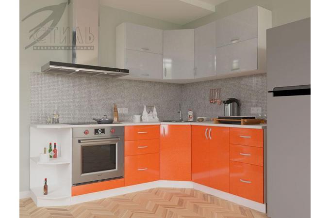 Кухня Виола оранж