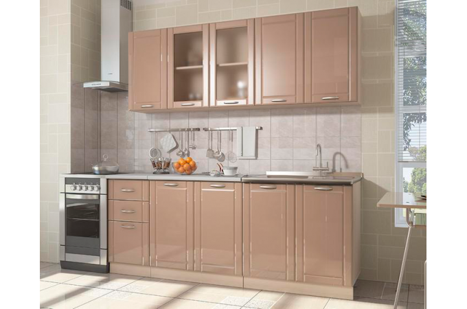 Модульная кухня Виола Нео Фрезеровка Грани 1