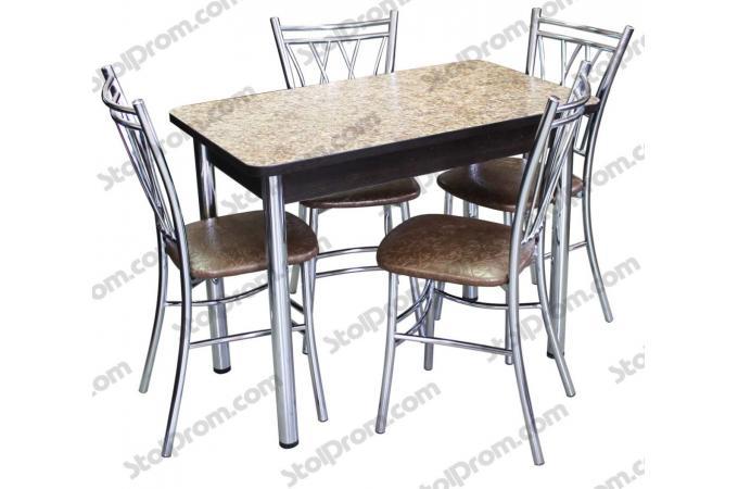 Обеденная группа стол и стулья  № 12