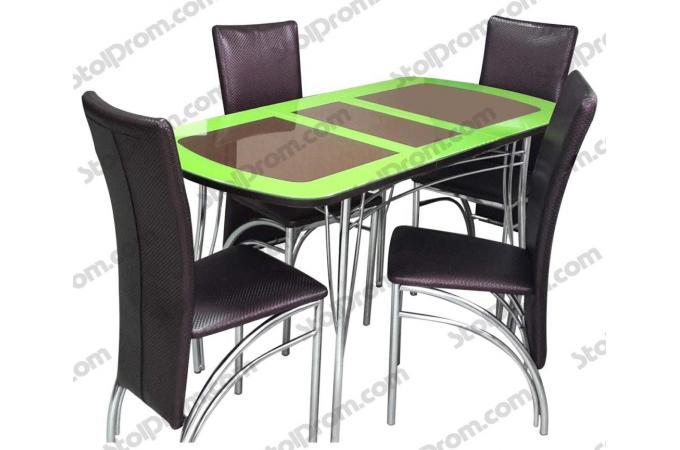 Обеденная группа стол и стулья  № 15