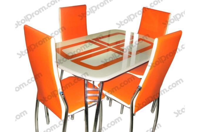 Обеденная группа стол и стулья  № 16