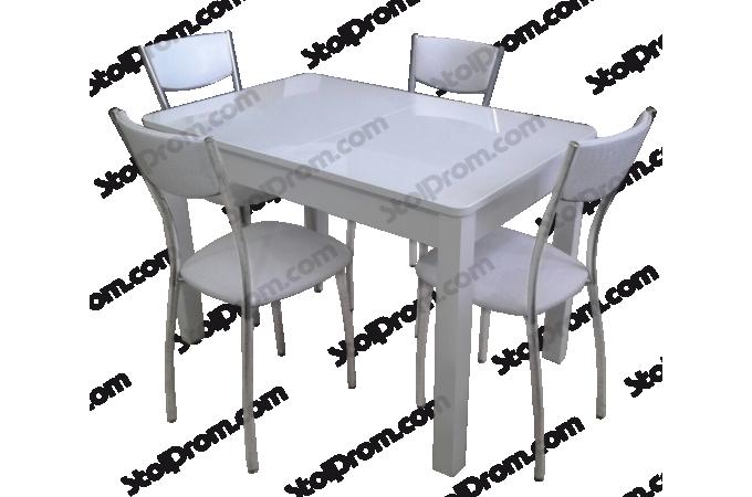 Обеденная группа стол и стулья  № 7