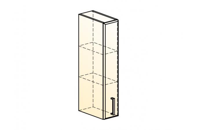 Палермо Шкаф навесной L 150 H 804 (1 дв. гл.)