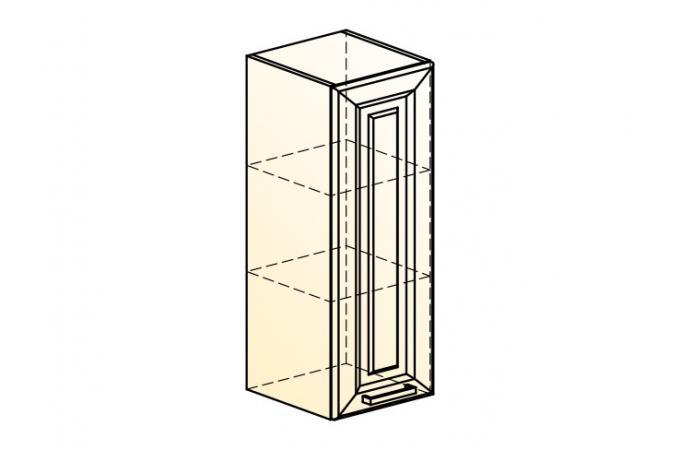 Палермо Шкаф навесной L 300 H 804 (1 дв. гл.)