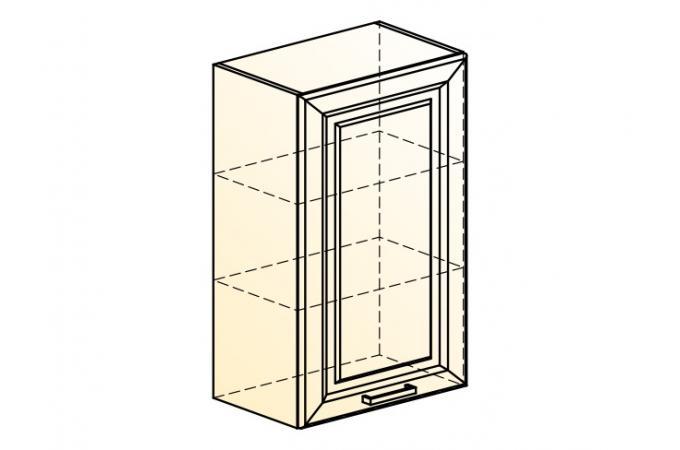 Палермо Шкаф навесной L 500 H 804 (1 дв. гл.)