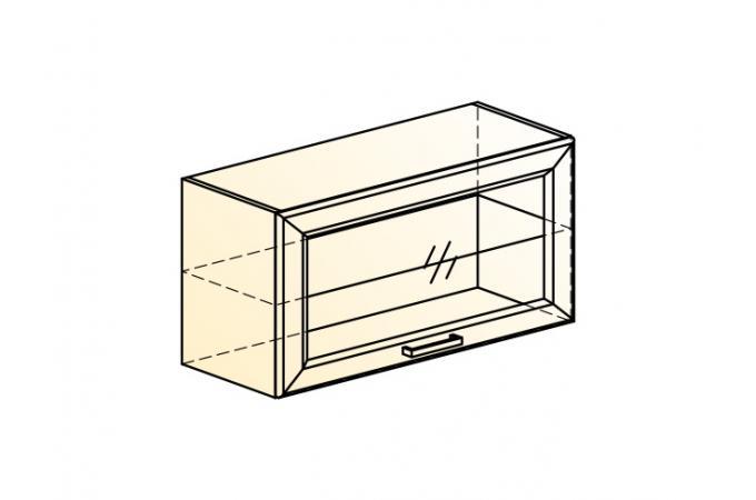 Палермо Шкаф навесной L 800 H 402 (1 дв. рам.)