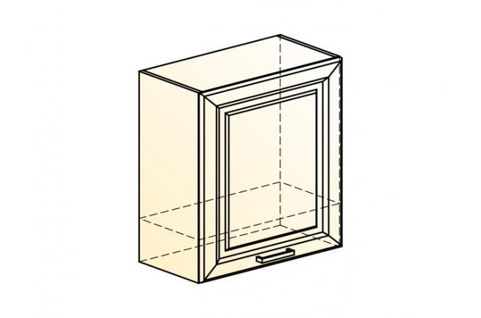 Палермо Шкаф навесной под вытяжку L 600 H 650 (1 дв. гл.)