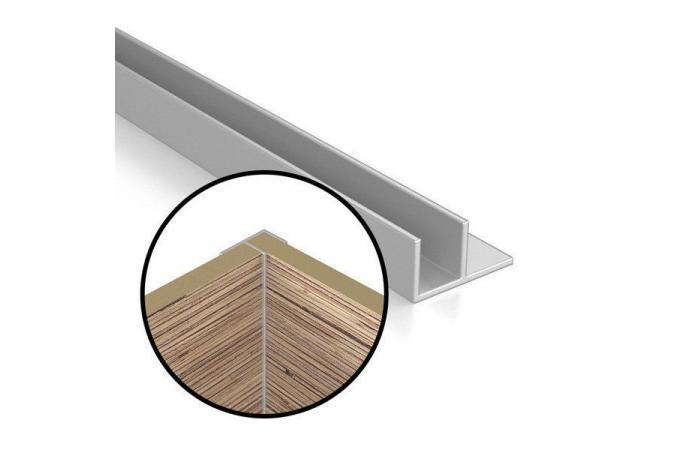 Угловая планка для стеновой панели 6 мм