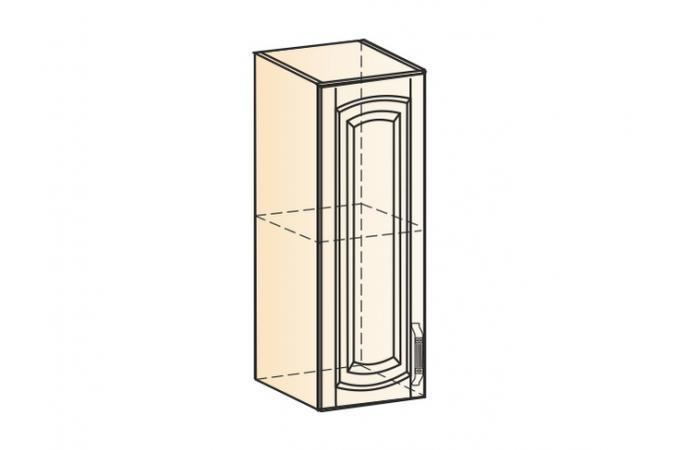 Венеция шкаф навесной L200 H720 (1 дверь глухая)