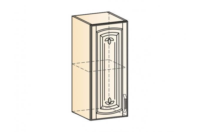Венеция шкаф навесной L300 H720 (1 дверь глухая)
