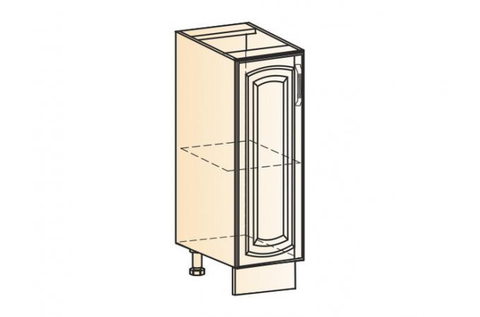Венеция шкаф рабочий L200 (1дв.гл.)