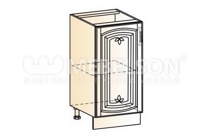 Венеция шкаф рабочий L400 (1 дверь глухая)