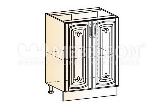 Венеция шкаф рабочий L600 (2 двери глухие)
