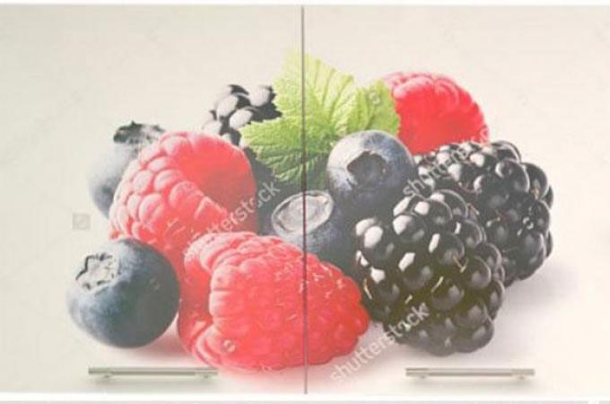 шкаф 1000  фотопечать кухня премьера Лесные ягоды